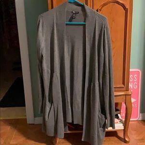 H&M Maternity Gray Cardigan Sweater, XL